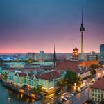 Berlin-Night Aerial view (2)