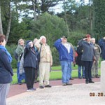 US Military Vets from our tour group at the American Cemetary