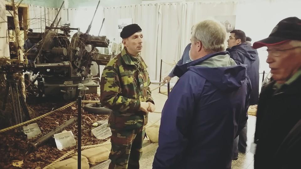 Our barracks guide Sgt. Muller