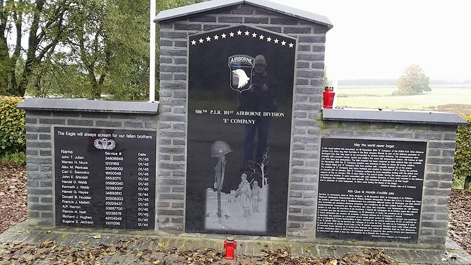 Band of Brothers Monument