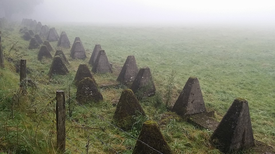Dragons Teeth on the West Wall