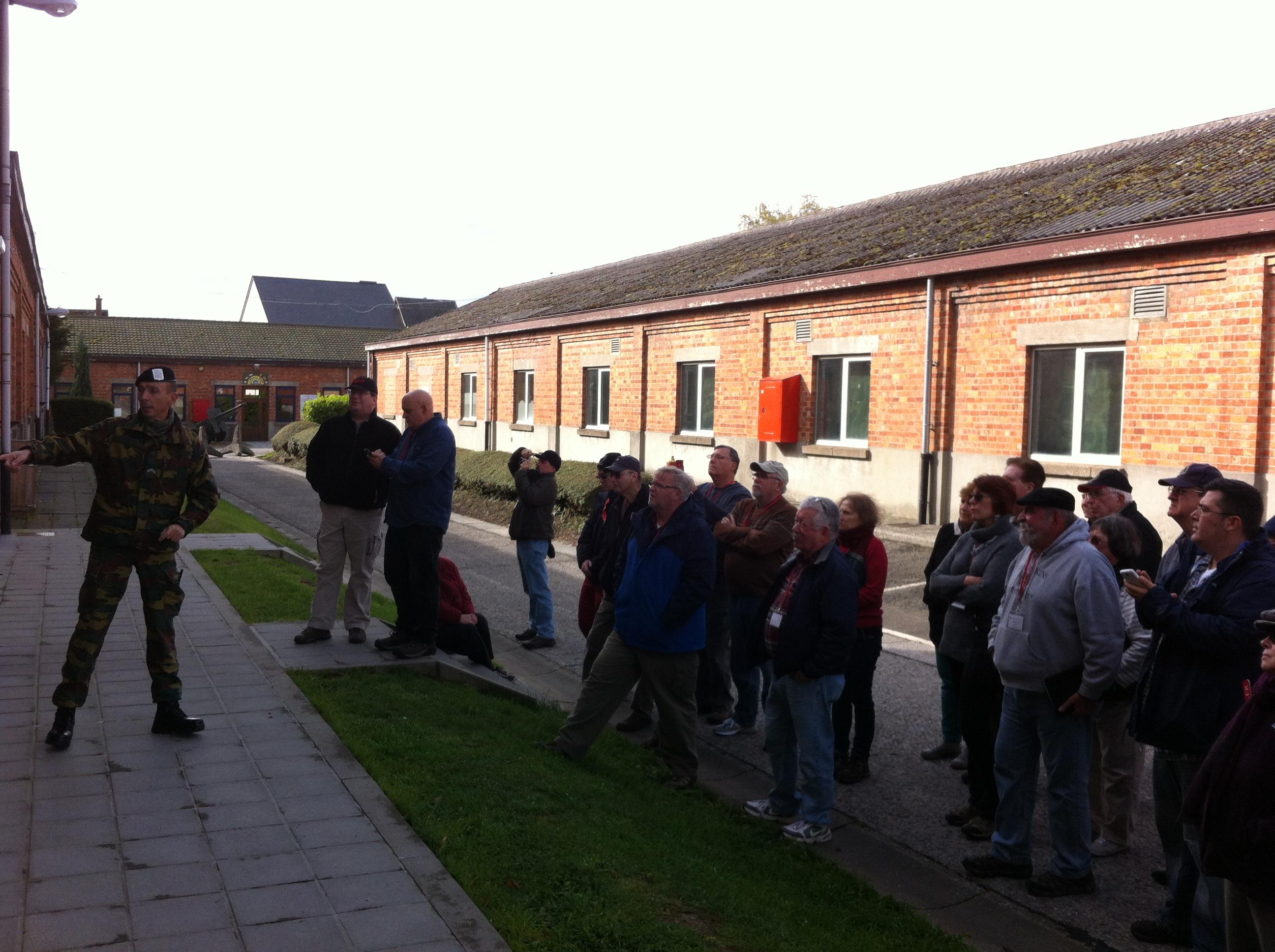 At the Bastogne Barracks